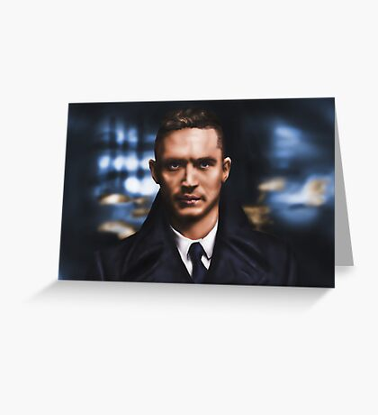 Tom Hardy Greeting Card