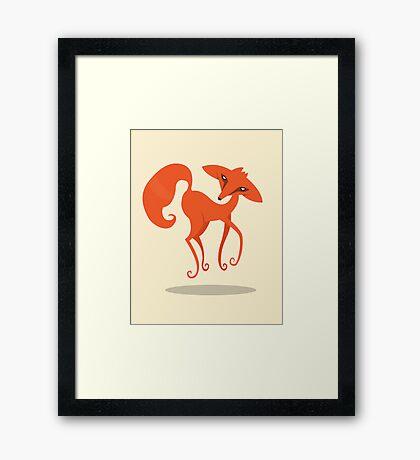 Foxprit Framed Print
