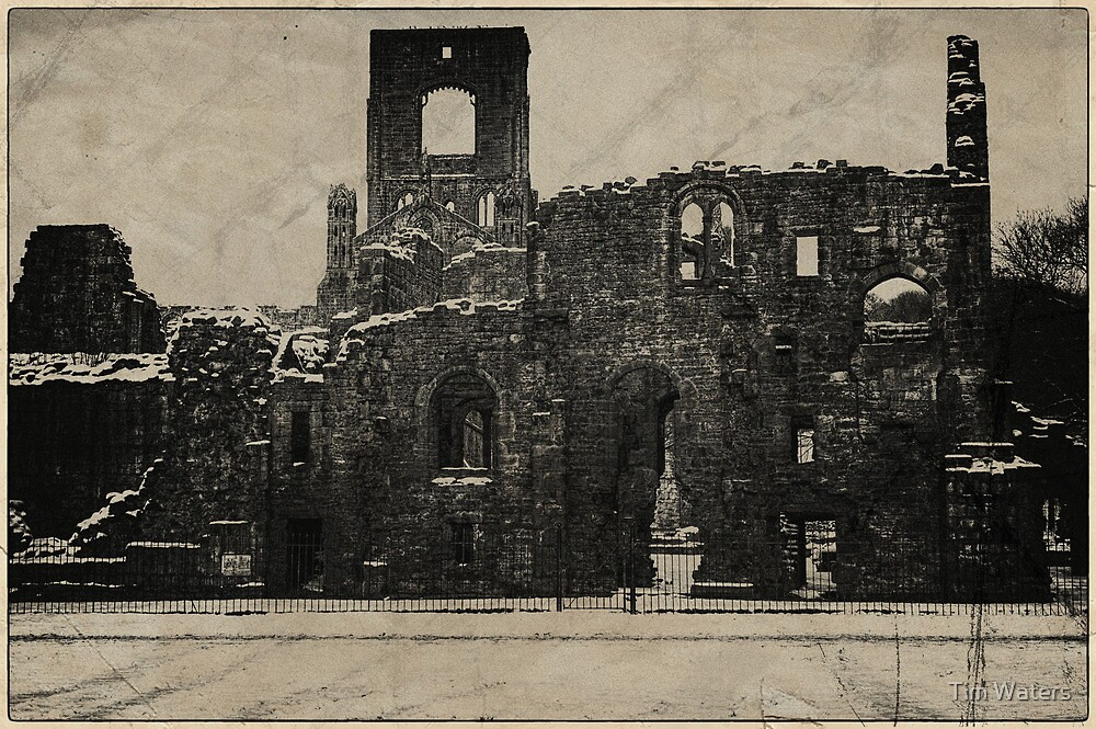 Vintage Kirkstall Abbey by Tim Waters