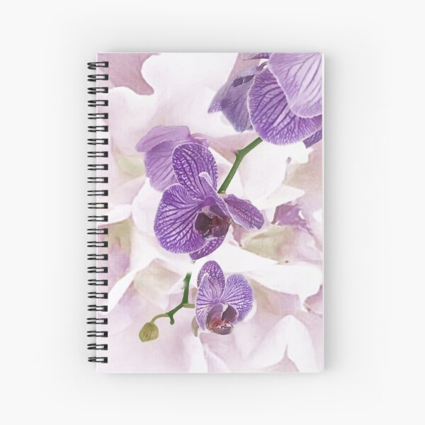 Orchid of Friendship Spiral Notebook