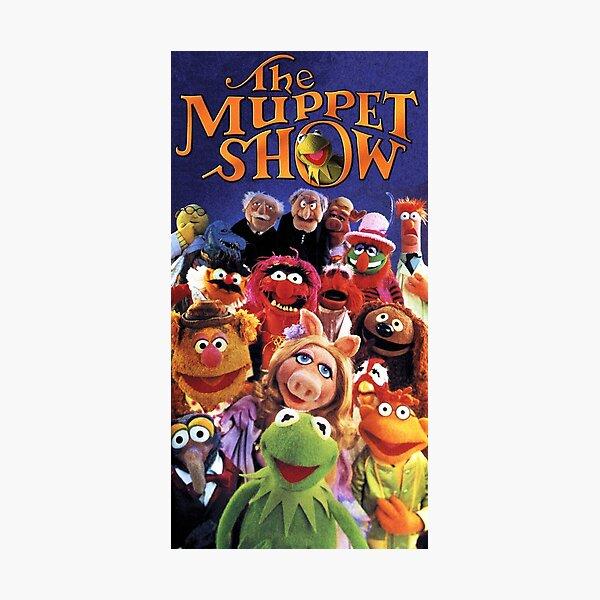 The Muppet Show - vintage cast retro TV Photographic Print