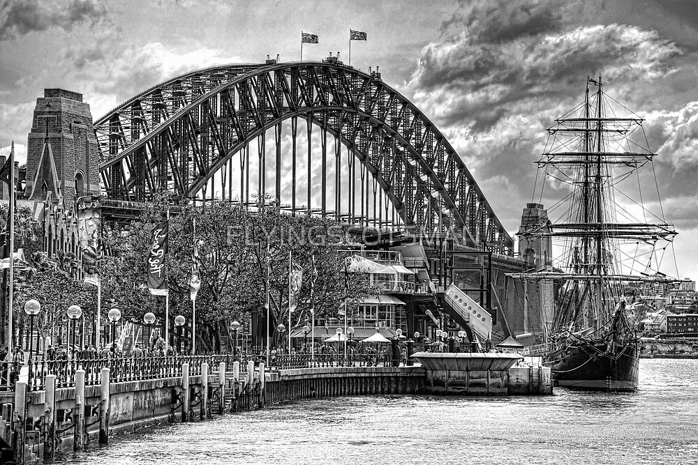 CLOUDS GATHER OVER THE BRIDGE by FLYINGSCOTSMAN