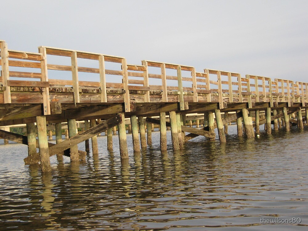 Early Morning Fishing Pier  by thewilsons80