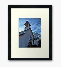 St James Lutheran Church Framed Print