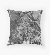Ceiling of the Ossuary Throw Pillow