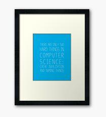 Computer Science Framed Print