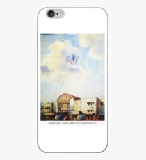 Dhaka new Market gate | watercolor by SADEK AHMED iPhone Case