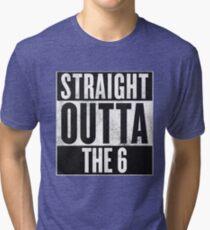 Straight Outta The 6 - Drake Toronto Tri-blend T-Shirt
