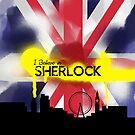 Sherlock in London by KanaHyde