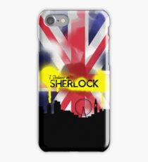 Sherlock in London iPhone Case/Skin