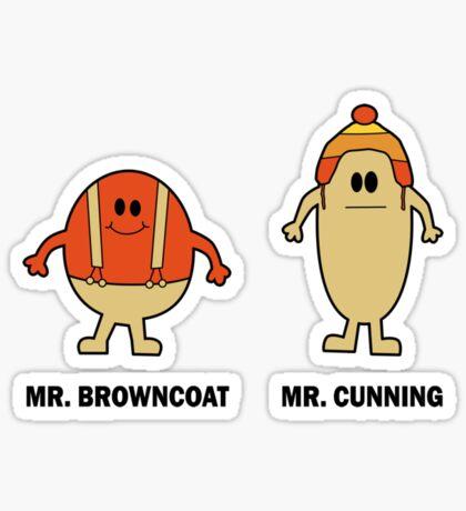 Mr Browncoat Sticker