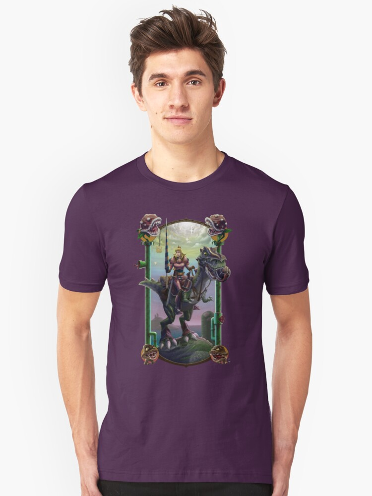 """He Just Might be in Another Castle."" Unisex T-Shirt Front"