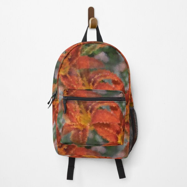 Cubist Lilies Backpack