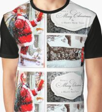 Have a Merry Christmas & a Happy New Year Graphic T-Shirt