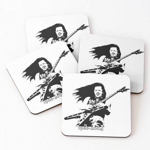 Dimebag 1966-2004 Coasters (Set of 4)