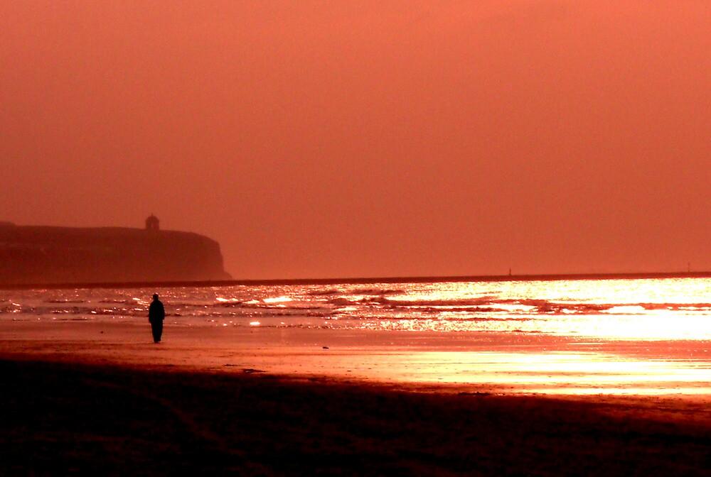 A Portstewart Strand Sunset  by Chigginsamy