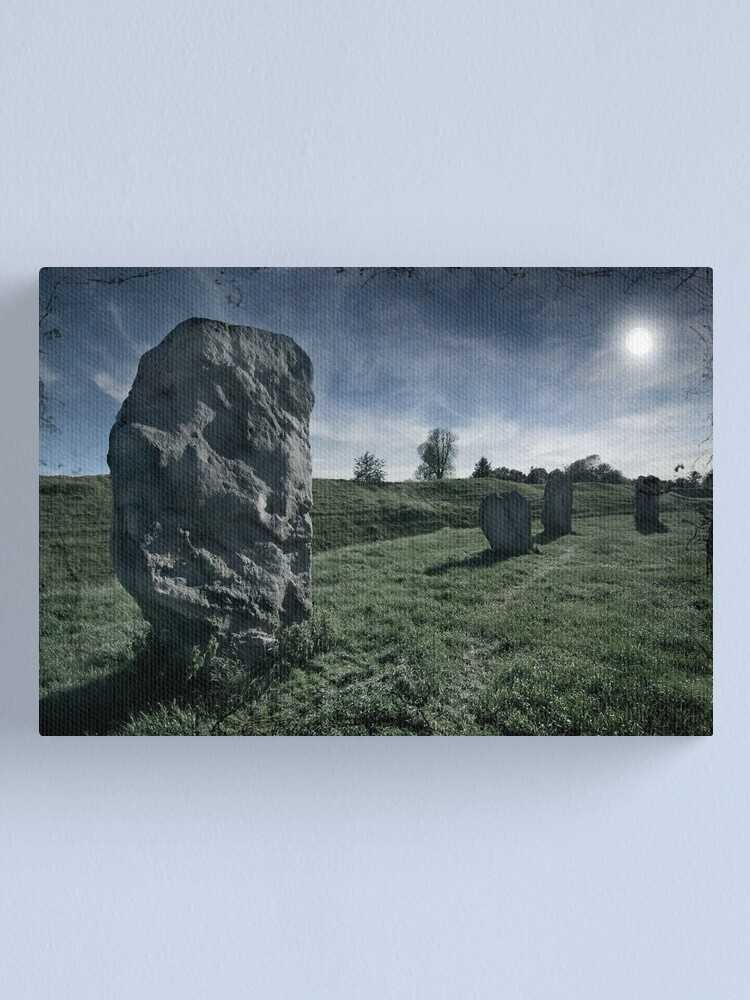 Alternate view of Avebury by Moonlight Canvas Print