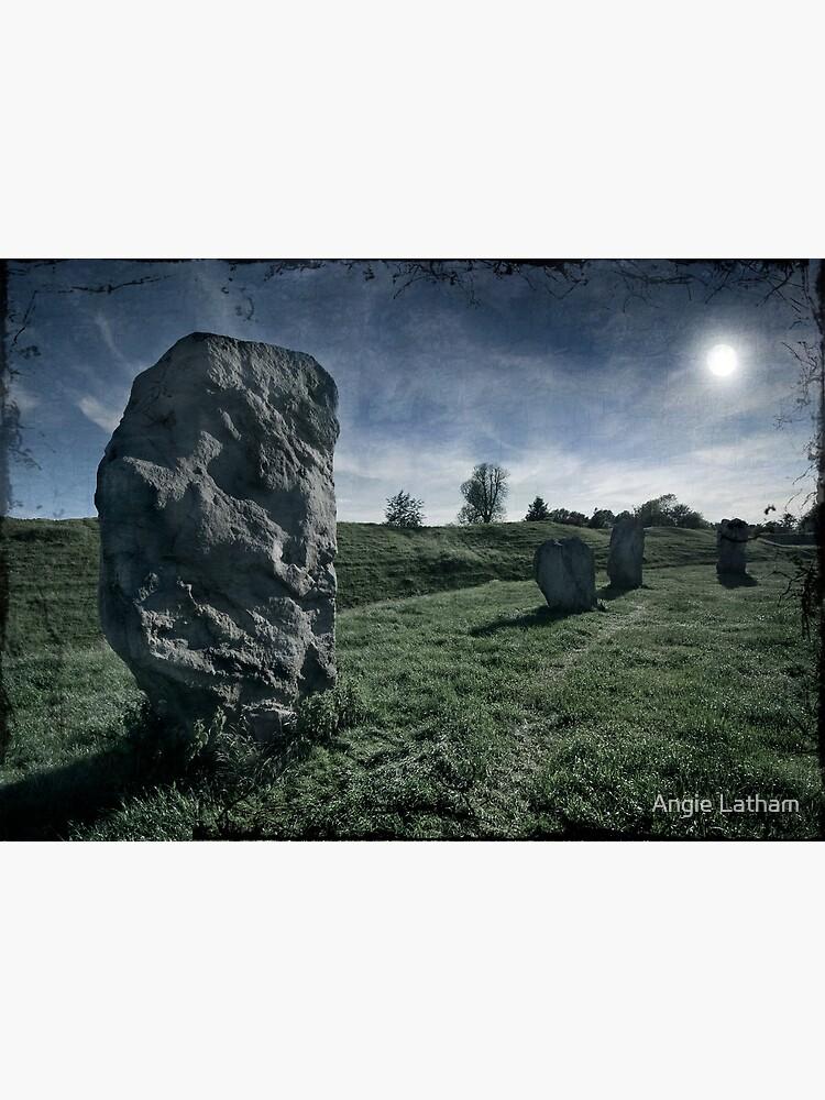 Avebury by Moonlight by AngelaBarnett
