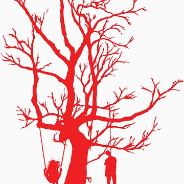 Tree of Happiness and Death (RED) by 360fun