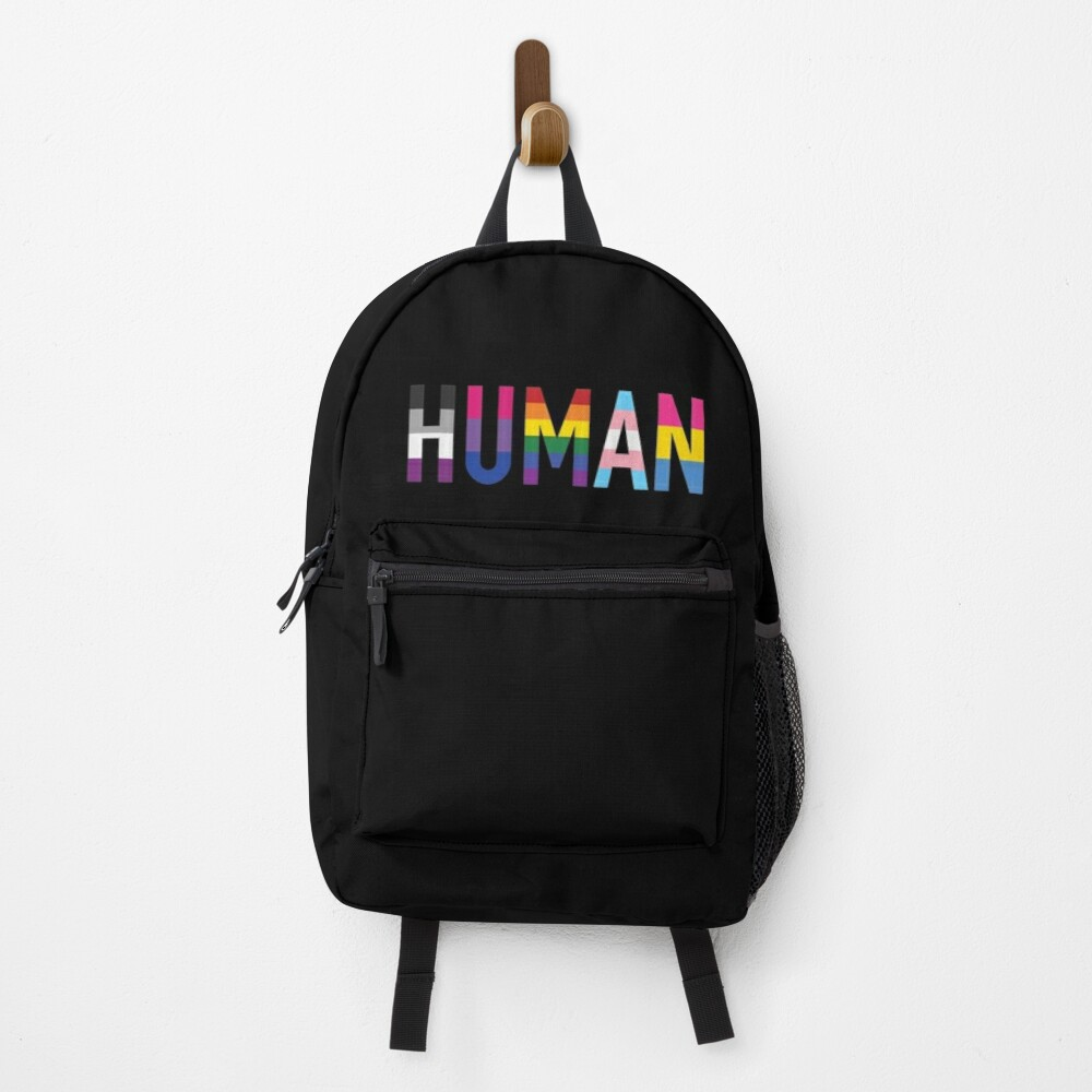 Human, Various Queer Flags 1 Backpack