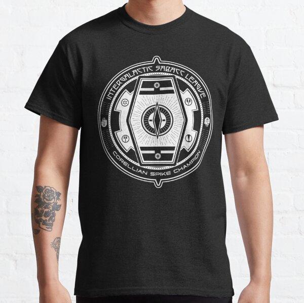 Intergalactic Sabacc League Badge: White Champion Classic T-Shirt