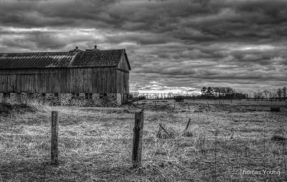 Barn Yard by Thomas Young