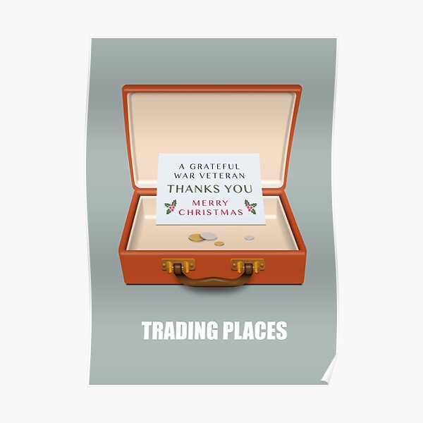 Trading Places - Alternative Movie Poster Poster