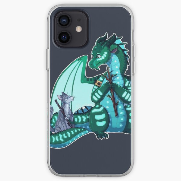 Wings of Fire & Warriors - Turtle and Jayfeather - Stick Bois iPhone Soft Case