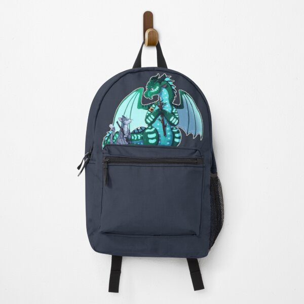 Wings of Fire & Warriors - Turtle and Jayfeather - Stick Bois Backpack
