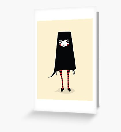 Ugly Me Greeting Card