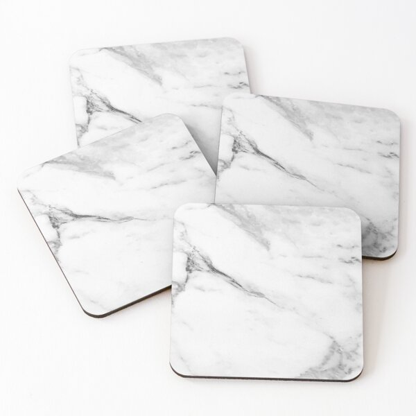 Marble Pattern Coasters (Set of 4)