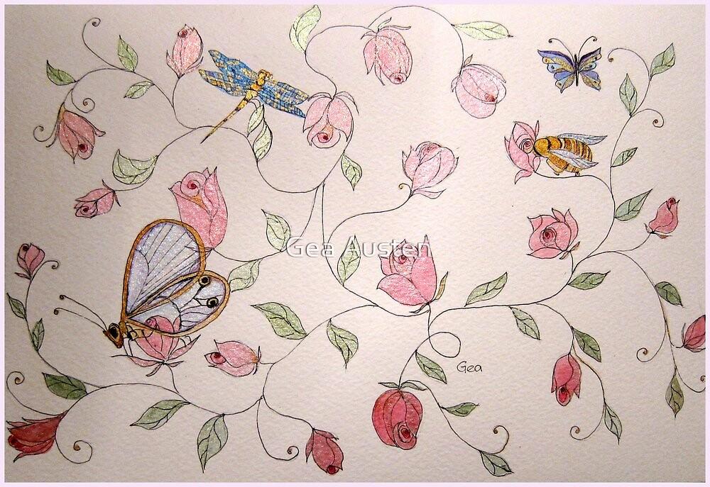 ROSEBUD SHEEN by Gea Austen