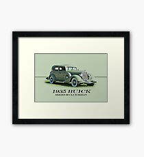 1935 Buick Series 60 Club Sedan w/ID Framed Print