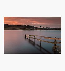 Early Morning On Knapps Loch Photographic Print