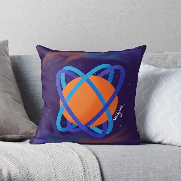 Multigender Planet Throw Pillow