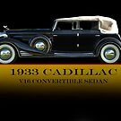 1933 Cadillac V16 Convertible Sedan w/ID by DaveKoontz