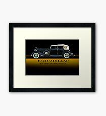 1933 Cadillac V16 Convertible Sedan w/ID Framed Print