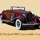 1932 Packard 900 Convertible Coupe w/ID by DaveKoontz