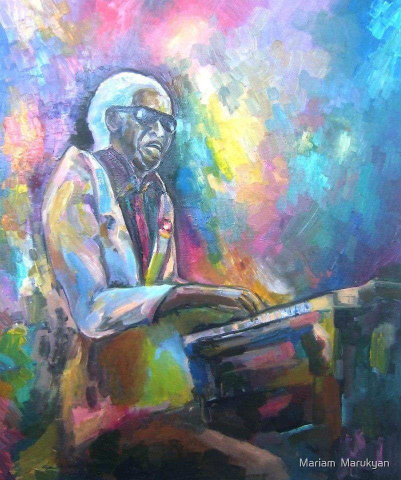 Ray Charles... by Mariam  Marukyan