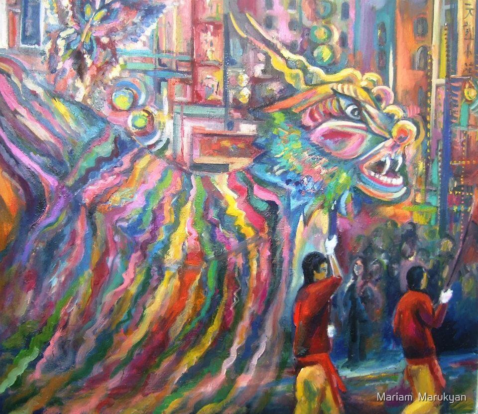 CHINA TOWN NY by Mariam  Marukyan