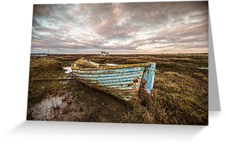 The Blue Boat by Patricia Jacobs DPAGB BPE4