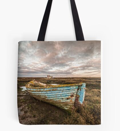 The Blue Boat Tote Bag