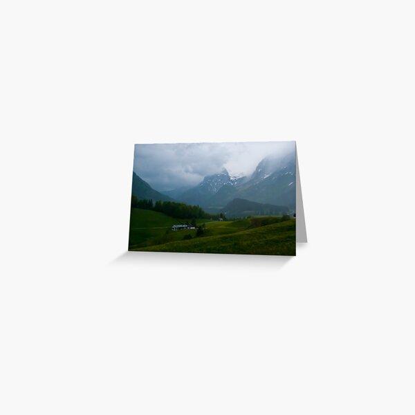 Austrian Rain Greeting Card