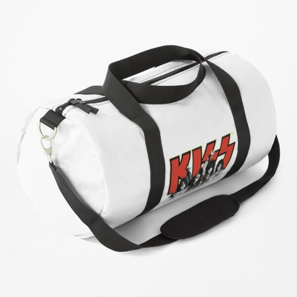 Kiss Band All Members - Red and Yellow Duffle Bag