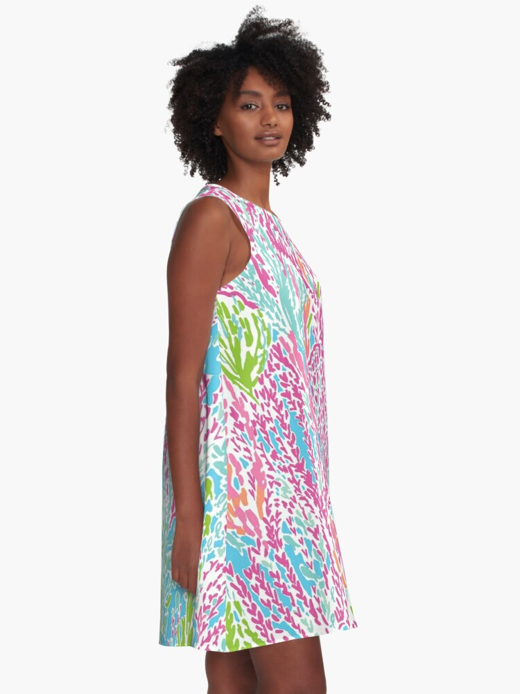 Alternate view of Lilly Inspired Print A-Line Dress