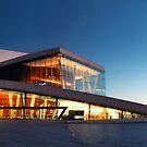 Oslo Opera House .01 by krzysiekrodak