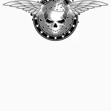 Party Skull v2.0 by dmccreative