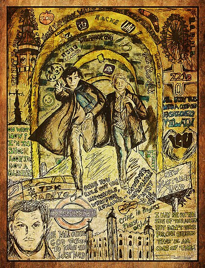 Sherlock Dada Doll by SerendipityArt