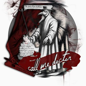 GA - CALL ME DOCTOR by RocksaltMerch