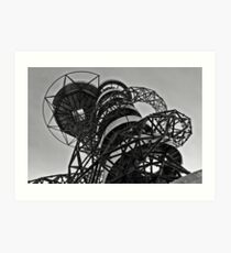 Orbit, Olympic Park, London Art Print